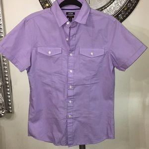 Apt 9 light purple short sleeved shirt